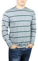 Brixton Mens Hilt Washed Pocket L/S T-Shirt Heather Grey Pine M New