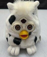 "Furby Buddies 4"" Black & White Bean Bag Plush Dalmation Cow Tiger 1999"