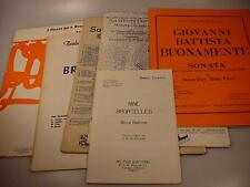 Collection of Brass Ensemble Scores #1 Trumpet, French Horn, Trombone, Tuba