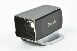 Voigtlander 28/35mm View Finder Black From Japan [Very Good] 88-F93