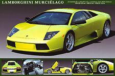 LAMBORGHINI MURCIELAGO Autophile Profile Cool Sports Car Wall POSTER