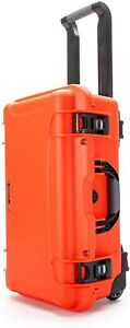 NANUK 935 Waterproof Carry-On Hard Case with Wheels and Foam Insert - Orange NEW