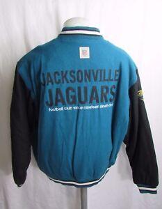 Jacksonville Jaguars NFL Men's VTG Reebok Gridiron Classic Wool Jacket