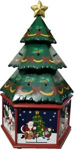 3-D Christmas Tree Advent Calendar on Swivel Base with 24 3-D Hanging Ornaments