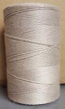 Rug Warp - Single 1/2 lb Tube - 8/4 Polyester Carpet Warp - Color Taupe