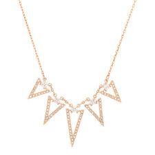 Swarovski Crystal Collana Funk 5241273 Necklace Placcata oro rosa NEW