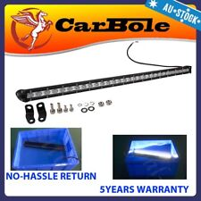 Slim One Row LED Light Bar 32 Inch 90W Combo Spot Flood Beam Work Offroad 4WD