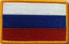 Russian Federation Flag  Iron-On Patch Russia ARMY Military Emblem