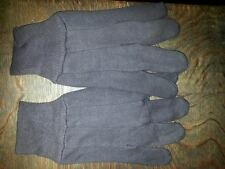2 Pairs of Brown 100% Cotton Jersey Work Gloves , Outdoors