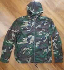 Polo Ralph Lauren Camo Camouflage Anorak Jacket Coat Mens Size M Military Army