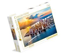 Clementoni Puzzle 500 Piezas New York Nueva York Bahia Paisaje Dream Regalo