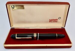 Vintage Boxed Montblanc MEISTERSTUCK 149 Fountain Pen