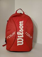 Wilson New(other)Tour Red Tennis Backpack. Excellent Condition.