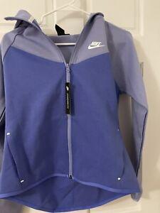 Nike Women's Sportswear WINDRUNNER Tech Fleece Full-Zip Hoodie BV3455 500 Size M