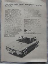 1970 Mazda 1800 Original advert No.2