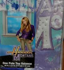 "Disney Hannah Montana Pole Top Valance - 50"" x 17"" - BRAND NEW IN PACKAGE"