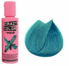 Crazy color Blue Jade coloration crème semi-permanente cheveux et mèches 100 ml