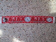 d9 sciarpa AJAX FC football club calcio scarf bufanda schal olanda holland
