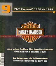 HARLEY DAVIDSON FL 1200 Panhead 1948 Milwaukee HD Servi Car MOTO Story Histoire