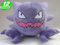 "12"" Wow Pokemon Haunter Gōsuto Plush Anime Stuffed Doll Toy Game PNPL6095"