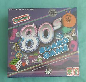 Awesome 80s Board Game Brand New Nostalgic Retro Music Film TV 500 TRIVIA ?