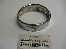 "Italian Lambretta CENTO/J 125 ""APRILIA"" Headlight Headlamp Rim Mint  N.O.S Order"