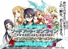 PSP Sword Art Online Infinity Moment First Limited Bonus 3 Disk Book Japan Game