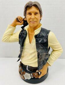 Star Wars Han Solo Harrison Ford 1/6 Mini Bust Gentle Giant