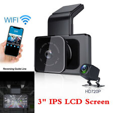 Dual Lens Car DVR Camera WIFI GPS Dash Cam Video Recorder G-Sensor Night Vision