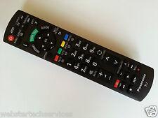 NUOVO Panasonic Genuine Remote Control tx-p46gt30b tx-p46gt30 tx-l32etn53