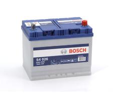 S4026 S4 026 Bosch Car Battery 12V 70Ah 630A Type 068 4 YEAR WARRANTY