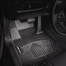 BMW OEM Black All Weather Floor Liners 2012-2017 F30 328i 335i Sedan 82112317868