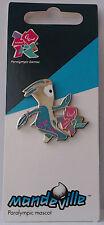 2012 Paralympic Mascot Pin Mandeville Badge