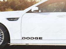 2 x Dodge Stickers for Doors RAM Charger Challenger SRT Journey Nitro