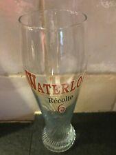 Waterloo glas verre glass  recolte 6 0,33 l 2016