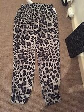 Michael Kors Leopard Animal Print Trousers Size 0 or XS With Tag
