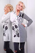 Mickey et Minnie chemise/robe/tunique pour Femmes, Femmes/Ado Filles, Noir