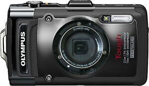 Olympus Tough TG-2 Waterproof Camera V104120BU000 (No Decoration Ring Included!)