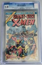 GIANT SIZE X-MEN #1 - CGC 2.0 1st Appearance of new X-Men. Case has small crack