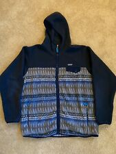 Patagonia Synchilla Hoodie Design Aztec RARE XXL Zip Up
