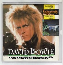 "DAVID BOWIE 7 "" Only Spain Maxi UNDERGROUND 2 tracks 1986 Different Cover /16"