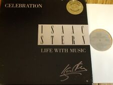 00AC2074-77 Celebration - Isaac Stern - A Life in Music 4 LP box JAPANESE
