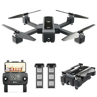 Holy Stone HS550 2K HD Camera Drone GPS FPV 5GHz RC Quadcopter With 2 Batteries