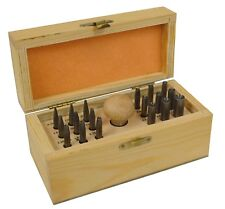 SETTING BURNISHER SET STONE SETTING KIT WITH 18 CONCAVE PUNCHES