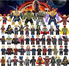 50 Set LEGO Marvel Avenger Super Heroes Thor Superman Spiderman Figures Lego