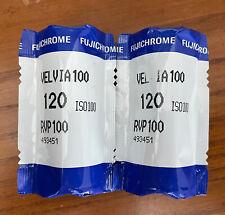 Fujifilm Velvia 100 Color Reversal Film - Expiration Date Unknown - 2 Rolls