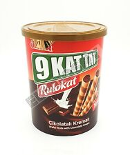 Ulker Wafer Rolls With Chocolate Cream 170g Each (Pack of 2)