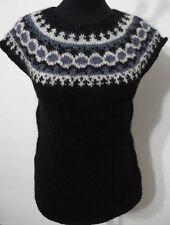 Ärmellose hüftlange Damen-Pullunder-Stil aus Wolle