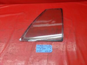 79-86 FORD MUSTANG COUPE NOTCHBACK RIGHT PASSENGER SIDE QUARTER 1/4 WINDOW GLASS