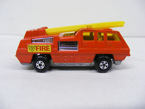 Matchbox Superfast MB22 Blaze Buster Fire Engine Red New Model Only No Box Vint